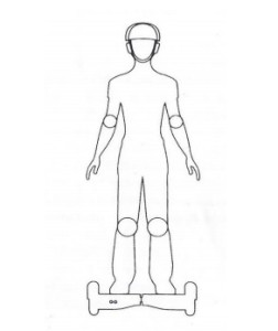notice hoverboard tenir debout